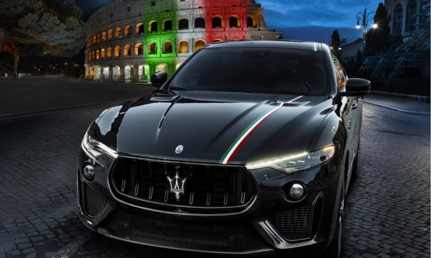 MASERATI AND THE ITALIAN TRICOLOR, APPLIED BY HAND. A PROJECT FOR RENEWAL.