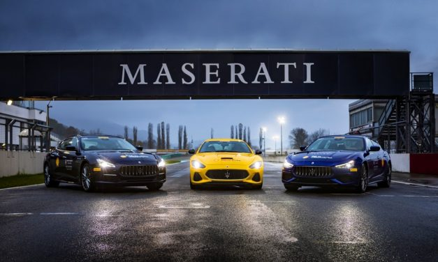 THE NEW SEASON OF THE MASTER MASERATI PROGRAMME GETS UNDERWAY