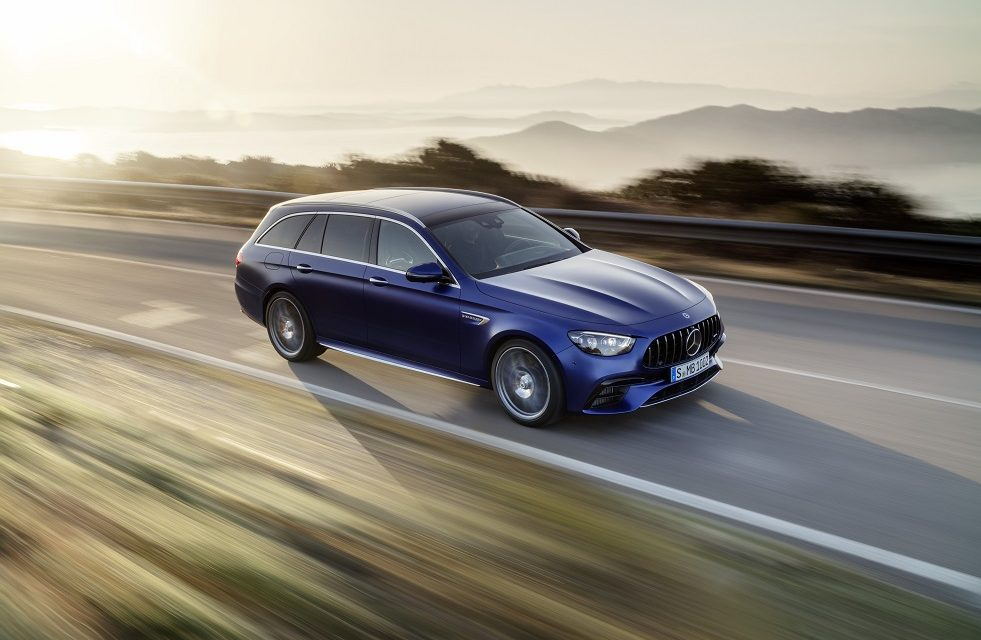 Extensive update for Mercedes-AMG E 63 4MATIC+ Saloon and Estate