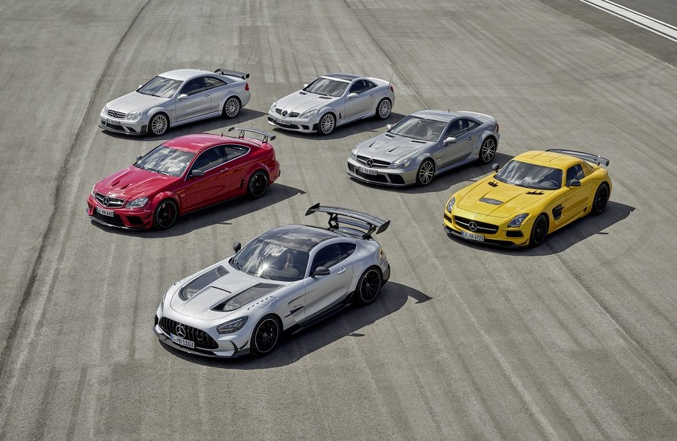 THE ABSOLUTE PINNACLE OF THE AMG GT FAMILY: THE NEW MERCEDES-AMG GT BLACK SERIES