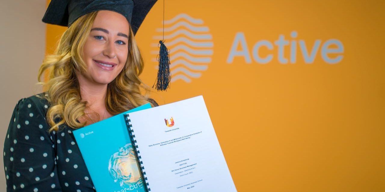Active's Jess is first class