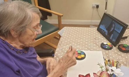 as £10,000 project sees care home bring families together for digital arts sessions