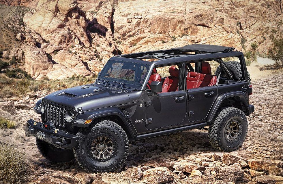 JEEP® INTRODUCES NEW 6.4-LITRE V8 WRANGLER RUBICON 392 CONCEPT