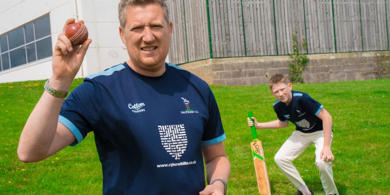 Cyberwhite sponsors young Teesside cricketers after disturbed start to season