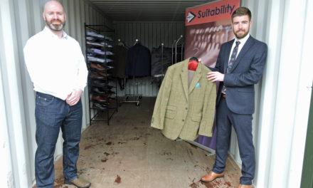 County Durham firm rolls up its sleeves to support charity