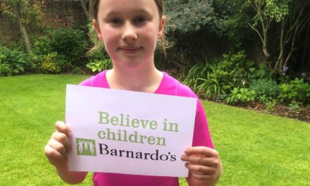 Elsa runs 155km for Barnardo's Young Carers