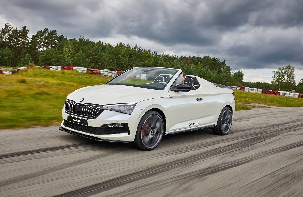 DYNAMIC, OPEN AND EMOTIONAL: THE ŠKODA SLAVIA IS THE SEVENTH STUDENT CONCEPT CAR
