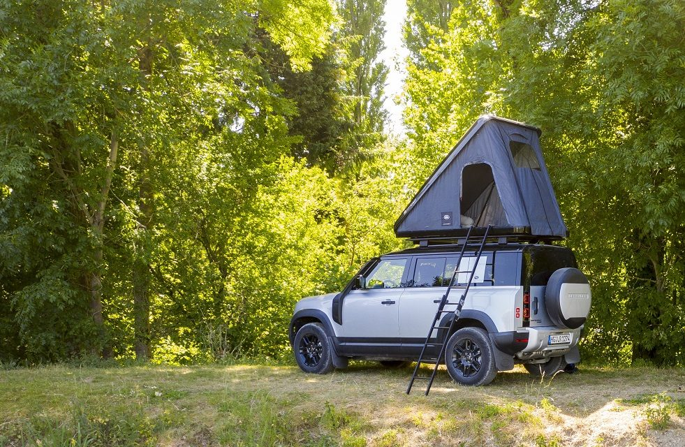 LAND ROVER AND AUTOHOME CREATE RUGGED ROOF TENT FOR NEW DEFENDER