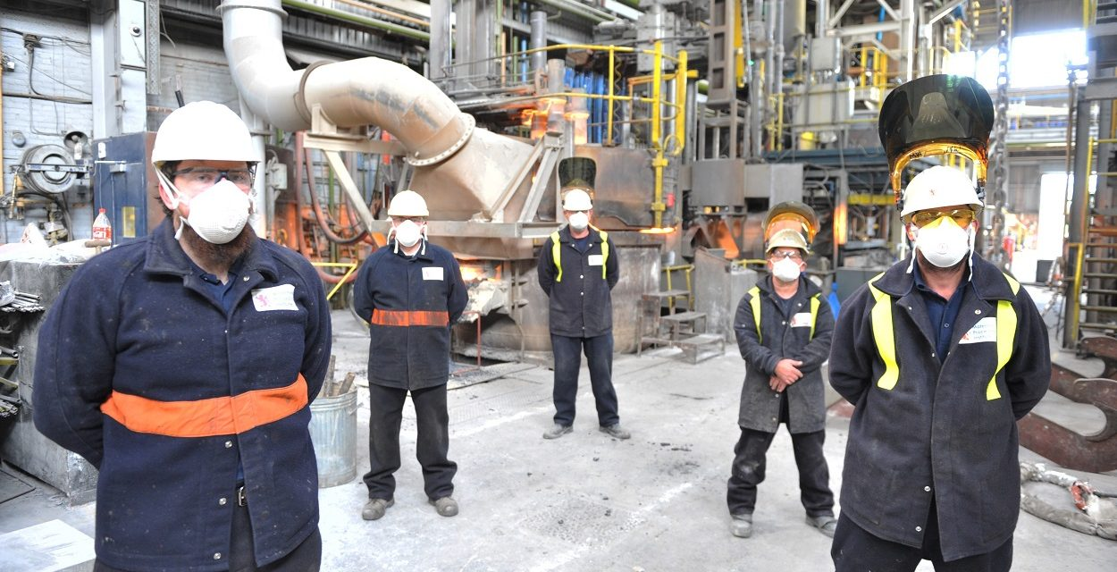 Materials Processing Institute reopens unique research steel plant