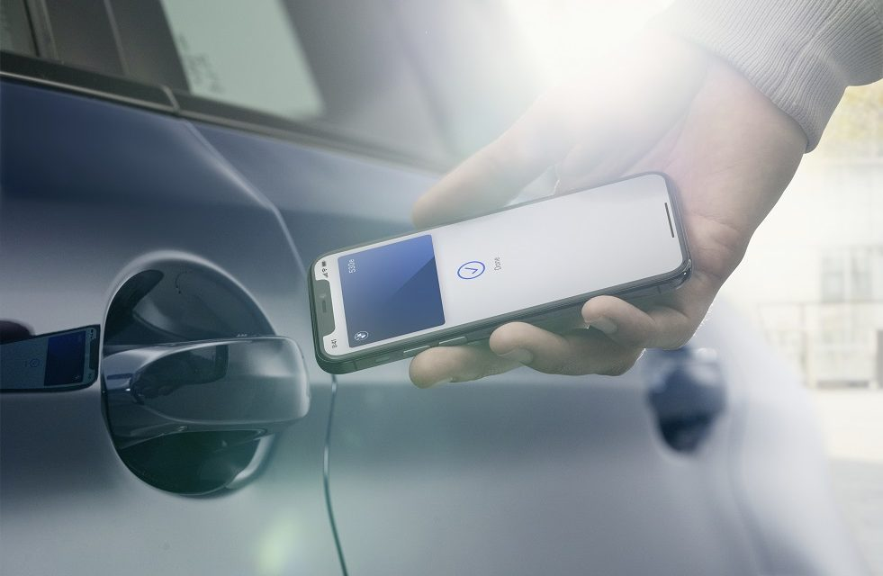 BMW ANNOUNCES SUPPORT FOR DIGITAL KEY FOR IPHONE. A SECURE AND EASY WAY TO USE IPHONE AS A CAR KEY TO LOCK, UNLOCK, DRIVE, AND SHARE KEYS WITH FRIENDS
