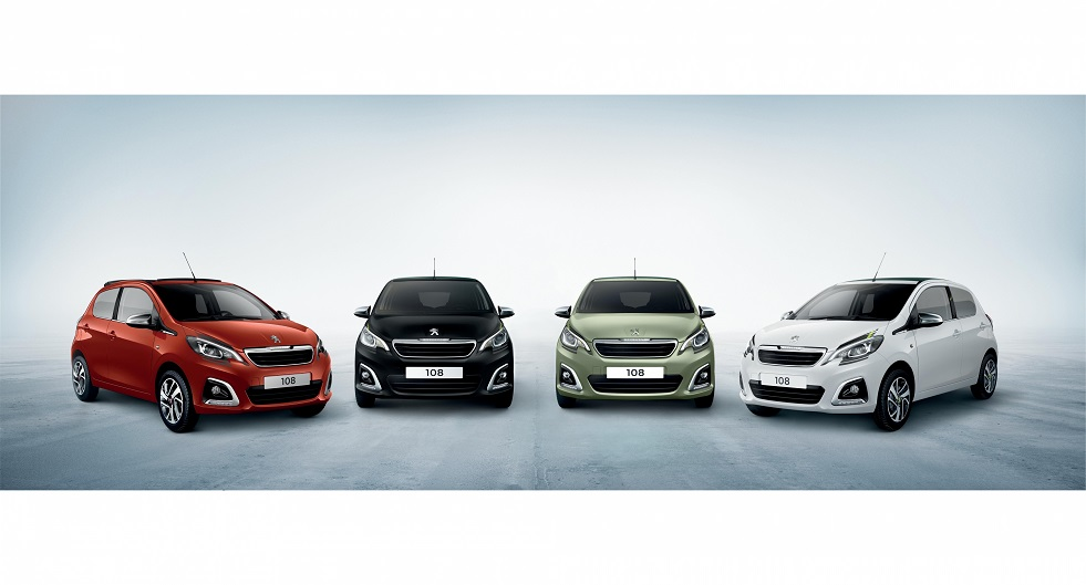 PEUGEOT 108 UPDATED WITH NEW STYLE & INTERIOR TRIMS