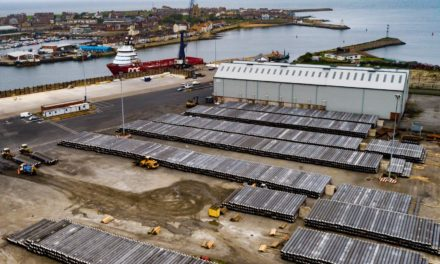 PD Ports wins major pipeline contract with global manufacturer at Hartlepool