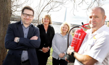 Fire training company rises from the ashes