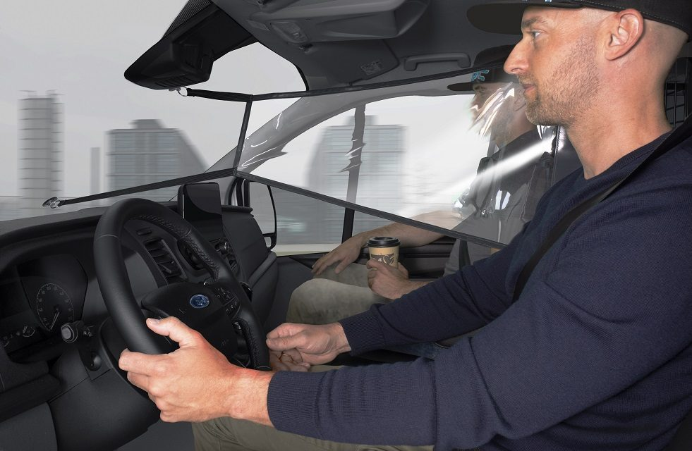 FORD LAUNCHES NEW PROTECTION SHIELDS TO DISTANCE TRANSIT AND TOURNEO OCCUPANTS