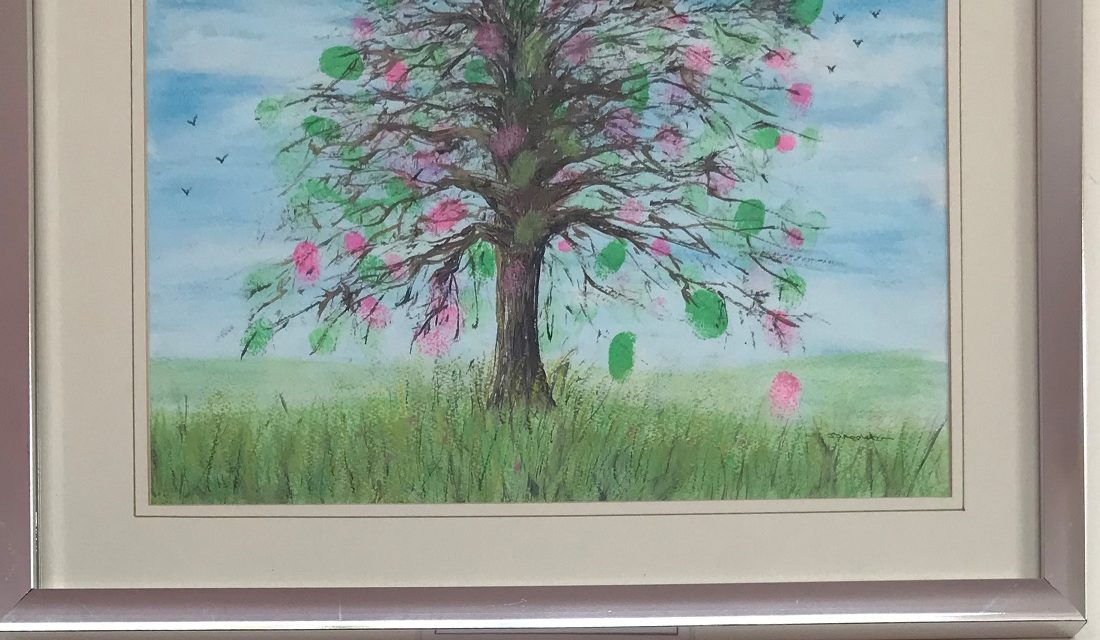 North Yorkshire care home celebrates community with lockdown artwork