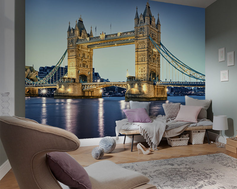 Cool home decoration with wall murals