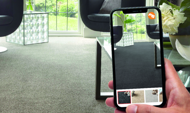 Flooring retailer invests £200,000 in new augmented reality technology