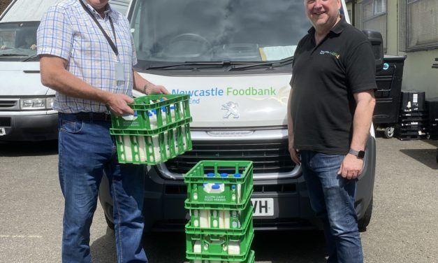 Buy local shoppers help Newcastle foodbank meet demand for fresh produce