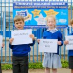 Pupils encouraged to #StaySafeGetActive
