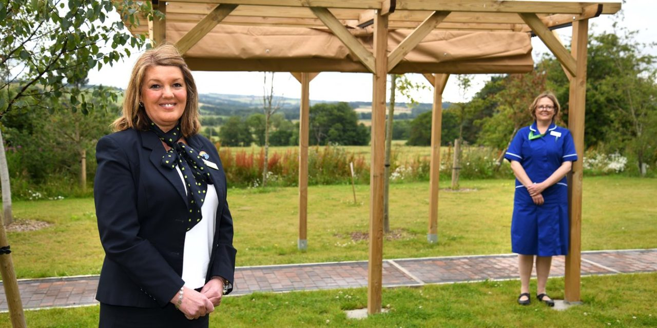 Newcastle Building Society Grant Sits Well With Willow Burn Hospice