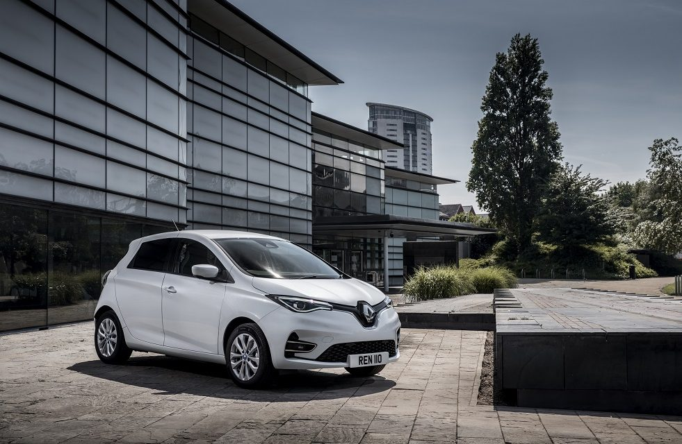 ALL-ELECTRIC ALL-NEW ZOE VAN JOINS RENAULT'S EXPANDING PRO+ RANGE