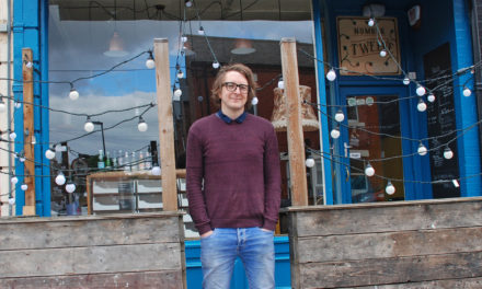OPENING a kerbside kiosk has put a popular Jesmond café on the 'path' to greater success.