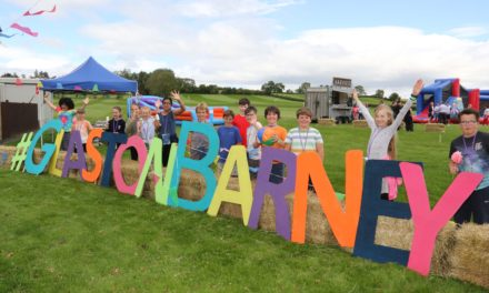 Welcome to Glastonbarney as school sends off Year 6 in festival style
