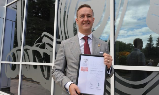 Materials Processing Institute receives MoD award for armed forces support