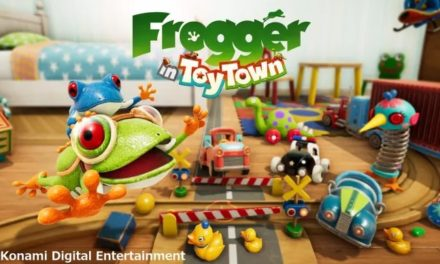 FROGGER IN TOY TOWN 'SIMPLE MODE' NOW AVAILABLE, EXCLUSIVELY ON APPLE ARCADE