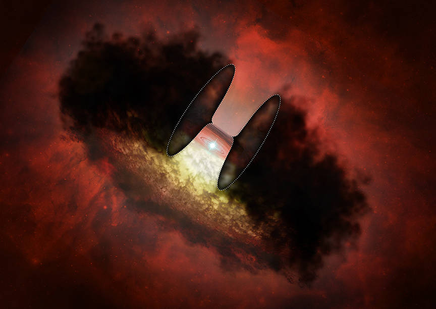 X-rays From a Newborn Star Hint at Our Sun's Earliest Days