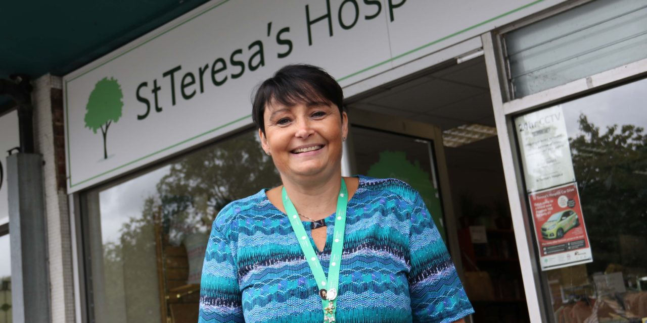 All hands to the pump so hospice shop could reopen