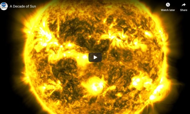 Watch a 10-Year Time Lapse of Sun From NASA's SDO