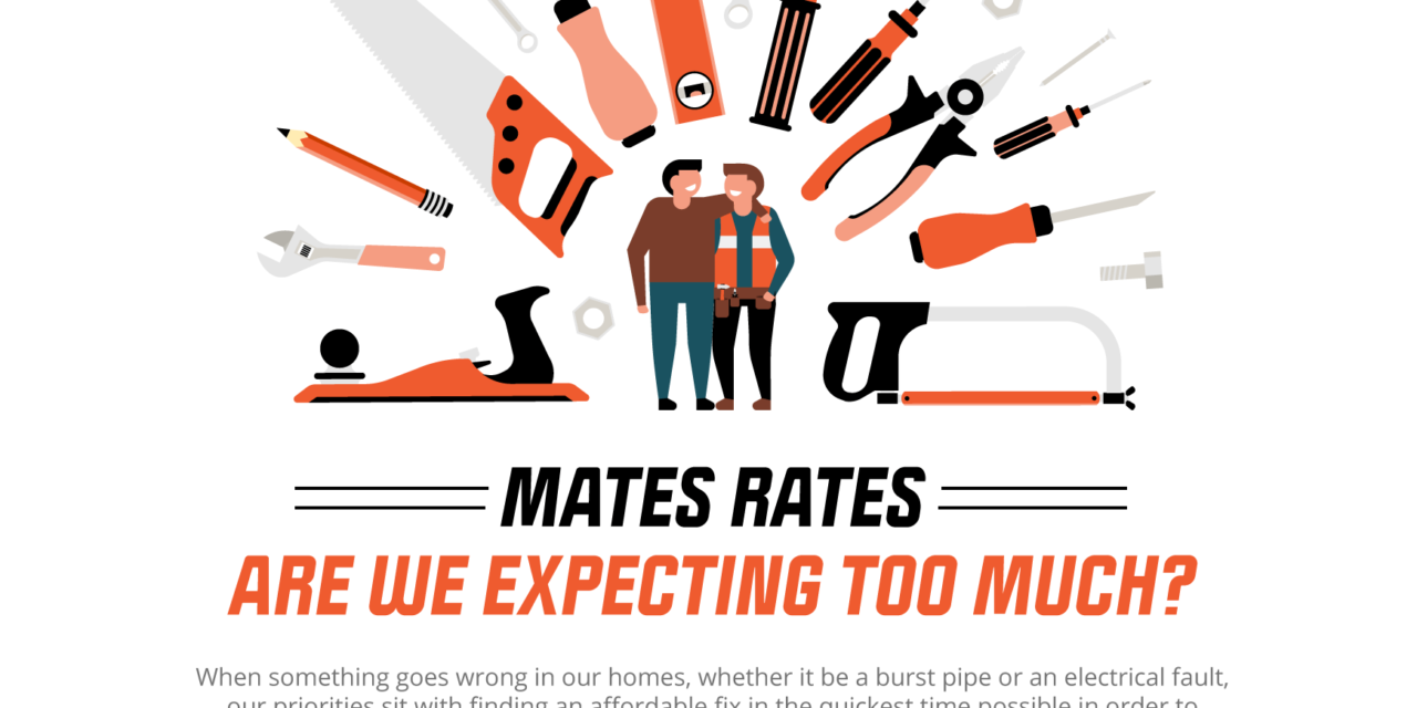 81% OF PEOPLE EXPECT MATES RATES FROM FRIENDS WORKING IN A TRADE