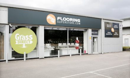 Flooring store makes donation to local charity via its CSR programme