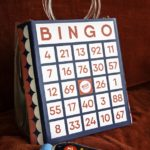 AN ALERNATIVE VARIATION OF THE LULU GUINNESS DESIGNER 'BINGO' BAG