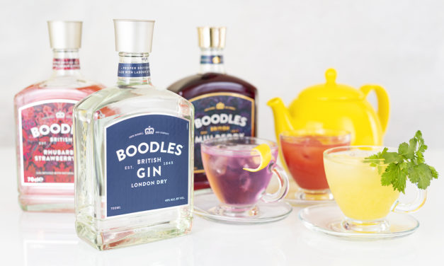 BOODLES GIN TEAPOT SERVES FOR AFTERNOON TEA WEEK