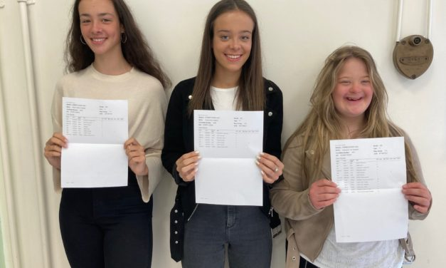 Three-mendous! Triplets and twins celebrate GCSE success at County Durham school