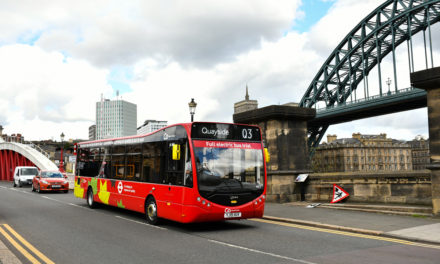 Super-green bus trial takes next steps at Go North East