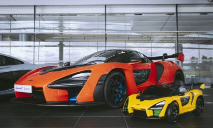 NEW McLAREN SENNA 'RIDE-ON' IS 2020'S ELECTRIFIED ULTIMATE TOY
