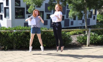 Students receive excellent exam results in a year like no other
