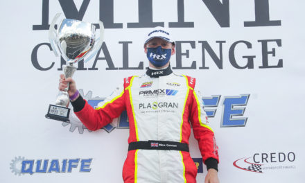 Coates wins on Mini Challenge debut
