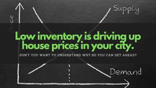 Low inventory driving house prices to unaffordable levels in select markets
