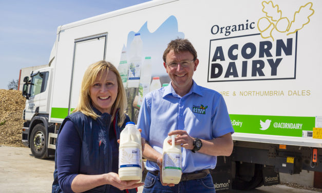 Local farm over the moo-n to hit major milestone with dairy deliveries