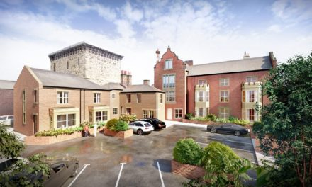 Historic building conversion in the heart of Northumberland market town