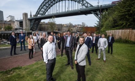 BOOM IN INSURANCE ENQUIRIES SEES NORTH EAST FIRM ON TARGET FOR £1M