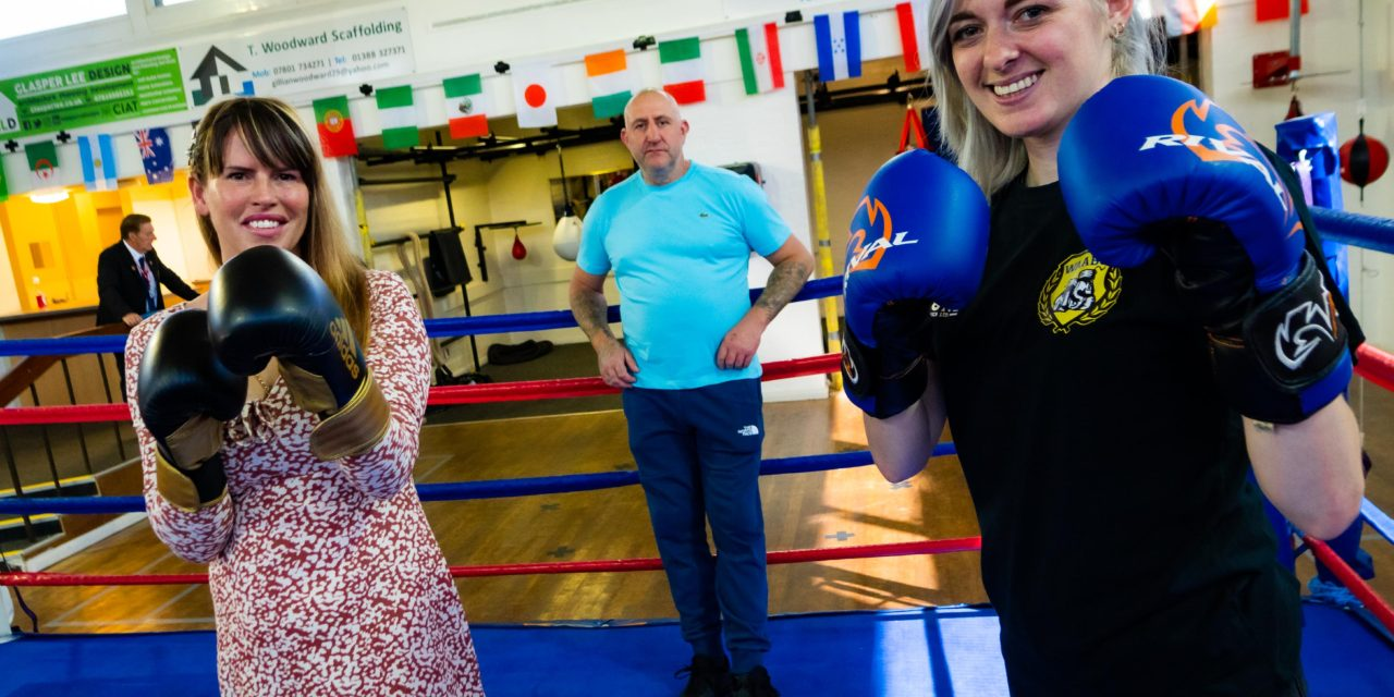 Amateur boxing gym hosts knockout opening day with special guest Dehenna Davison MP