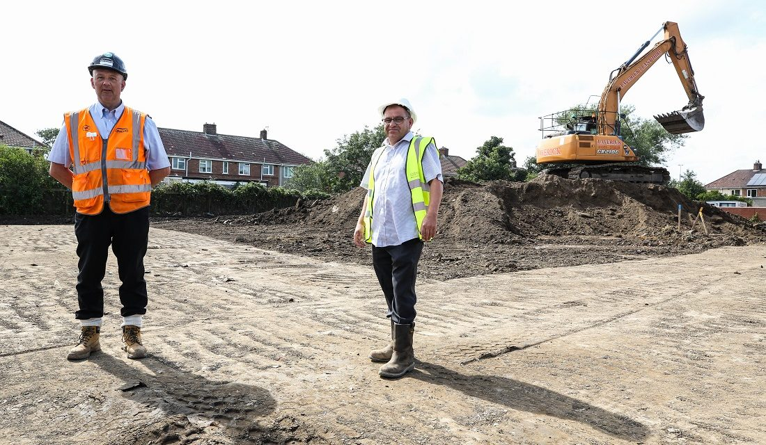 New homes in Hartlepool underway