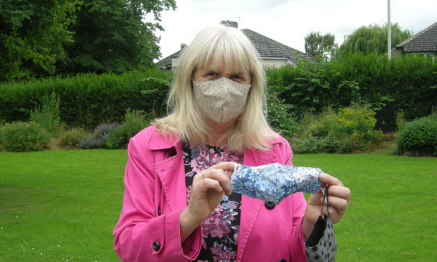 Masks instead of marathon for crafty fundraiser