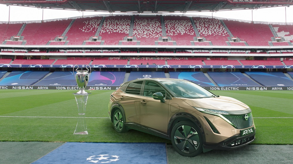 NISSAN GIVES 100% ELECTRIC LEAF DRIVERS A UEFA CHAMPIONS LEAGUE FINAL TO REMEMBER