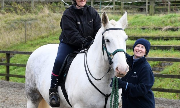 Newcastle Building Society Gallops In Again To Support Middlesbrough Riding For The Disabled Centre